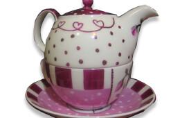 Ceainic buline roz