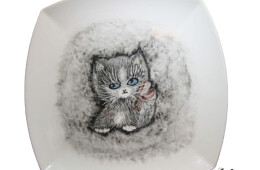 Farfurie cu pisicuţă